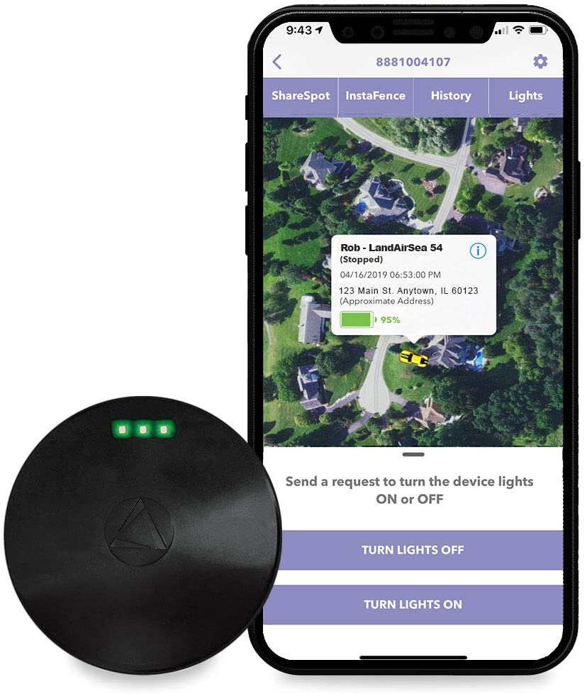 real time GPS tracker no fees